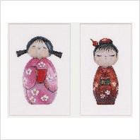 Набор для вышивания ''Куклы Кокеши