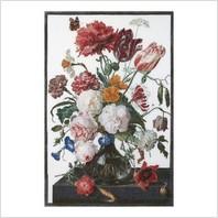 Набор для вышивания ''Натюрморт с цветами в стеклянной вазе