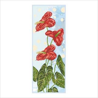 Антуриум - Т-1185 - ВДВ - Схема для вышивки бисером - Цветы