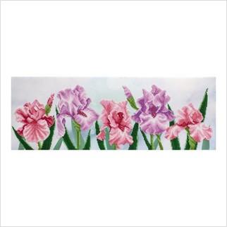 Петушки - Т-1186 - ВДВ - Схема для вышивки бисером - Цветы
