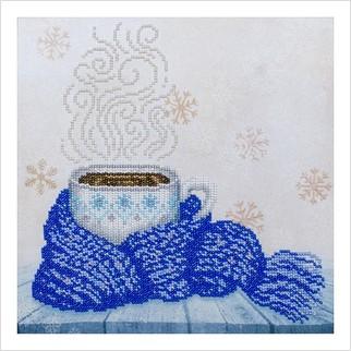 Ароматный кофе - Т-1198 - ВДВ - Схема для вышивки бисером - Натюрморты