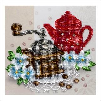 Кофейное настроение - Т-1229 - ВДВ - Схема для вышивки бисером - Натюрморты