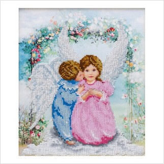 Ангелочки - Т-1234 - ВДВ - Схема для вышивки бисером - Ангелочки