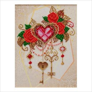 Ключи от сердца - Т-1241 - ВДВ - Схема для вышивки бисером - Натюрморты