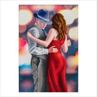 Страстный танец - Т-1251 - ВДВ - Схема для вышивки бисером - Люди