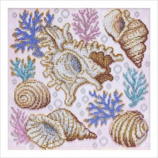 Сокровища морского мира - Т-1264 - ВДВ - Схема для вышивки бисером - Пейзажи