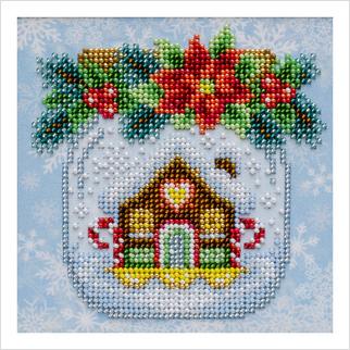 Рождественское настроение - Т-1284 - ВДВ - Схема для вышивки бисером - Новый год Рождество