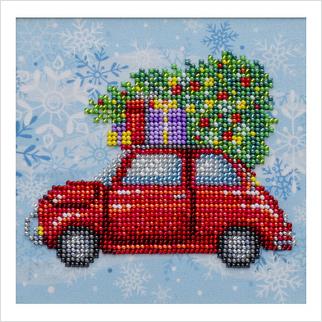 Рождественские каникулы - Т-1288 - ВДВ - Схема для вышивки бисером - Новый год Рождество