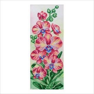 Рожеві орхідеї - Т-1294 - ВДВ - Схема для вишивки бісером - Квіти