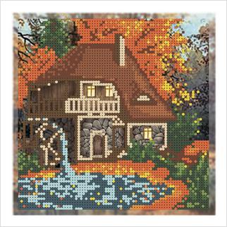 Осень - Т-1304 - ВДВ - Схема для вышивки бисером - Пейзажи