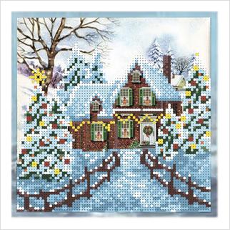 Зима - Т-1305 - ВДВ - Схема для вышивки бисером - Пейзажи