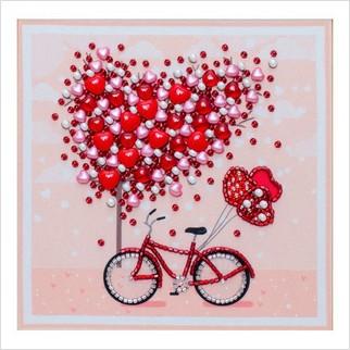 Дерево закоханих сердець - Т-1341 - ВДВ - Схема для вишивки бісером - Символіка