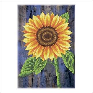 Соняшник - Т-1353 - ВДВ - Схема для вишивки бісером - Квіти