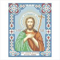 """Ткань с печатью для вышивки бисером иконы ''Иоанн Креститель"""""""