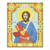 """Ткань с печатью для вышивки бисером иконы ''Святой Максим"""""""