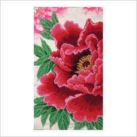 """Ткань с печатью для вышивки бисером """"Роскошное цветение"""""""