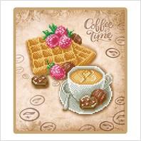 """Схема для вишивки бісером """"Вафлі до кави"""""""