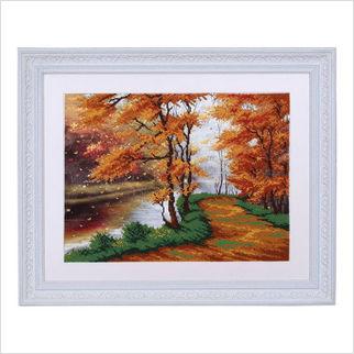 """Вышитая бисером картина """"Осень"""""""