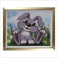 """Вышитая бисером картина """"Кролик"""""""