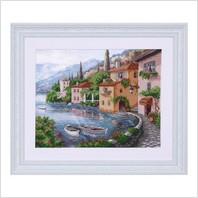 """Вышитая бисером картина """"Сицилия"""""""