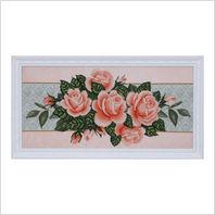 """Вышитая бисером картина """"Розы"""""""