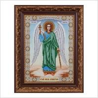 """Вышитая бисером картина """"Ангел хранитель"""""""