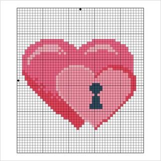 """Заготовка для открытки """"Влюбленные сердца"""""""