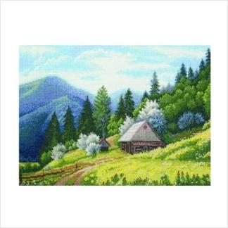 """Набор для вышивания ''Карпатская весна"""""""