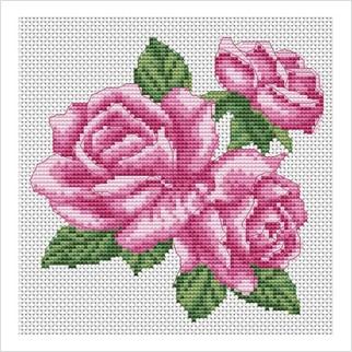 """Набор для вышивания ''Розы"""""""