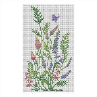 Луговий цвіт - М-0246 - ВДВ - Набір для вишивки муліне - Квіти