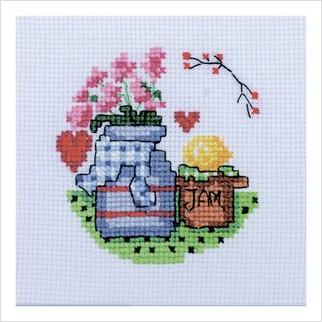 Ваза з квітами - М-0253 - ВДВ - Набір для вишивки муліне - Натюрморти
