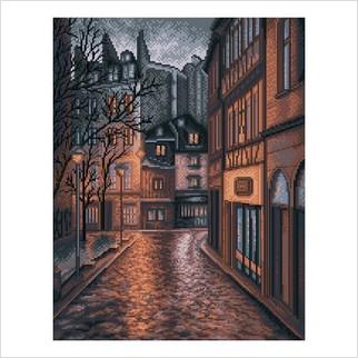 Вечірнє місто - М-0256 - ВДВ - Набір для вишивки муліне - Натюрморти