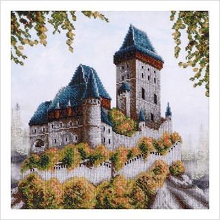 Смарагдовий замок - ТН-0290 - ВДВ - Набір для вишивки бісером - Пейзажі