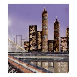 """Набор для вышивания """"Манхеттенская мечта, триптих, ч.3"""""""
