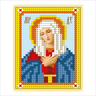 """Набор для вышивания """"Образ Пресвятой Богородицы """"Умиление"""""""