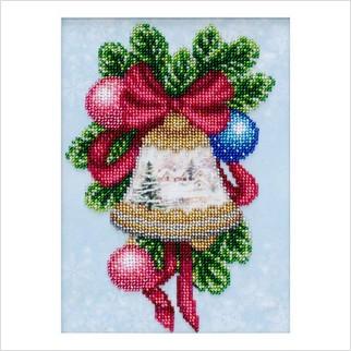 """Набор для вышивания """"Рождественский колокольчик"""""""