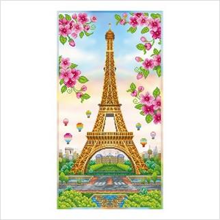 Париж навесні - ТН-1247 - ВДВ - Набір для вишивки бісером - Пейзажі