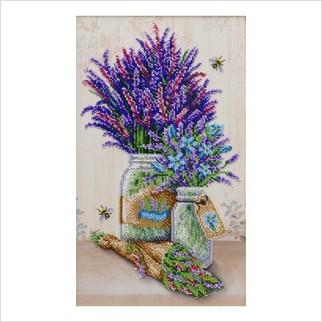 Лавандовий прованс - ТН-1280 - ВДВ - Набір для вишивки бісером - Квіти