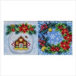 Рождественское настроение - ТН-1290 - ВДВ - Набор для вышивки бисером - Новогодние, Рождественские