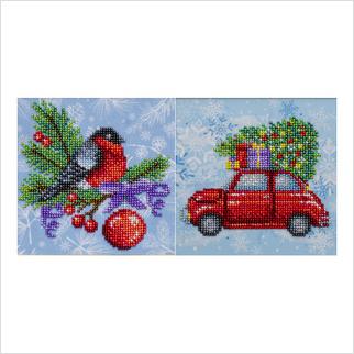 Рождественские каникулы - ТН-1291 - ВДВ - Набор для вышивки бисером - Новогодние, Рождественские