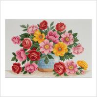 """Набор для вышивания ''Разноцветье весны"""""""