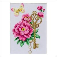 Набор для вышивания ''Цветочный край
