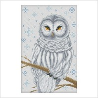 Набор для вышивания ''Снежная сова
