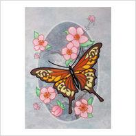 "Набор для вышивания ''Бабочка монарх"""