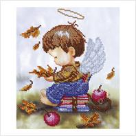 """Набор для вышивания """"Ангелочек школьник"""""""