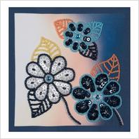 Набор для вышивания пайетками и бисером ''Декоративное панно