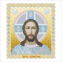 """Набор для вышивания вприкреп ''Иисус Христос"""""""