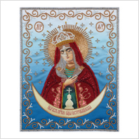 """Набор для вышивания """"вприкреп"""" """"Святая Богородица Остробрамская"""""""