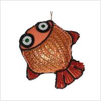 """Набор для вышивания пайетками и бисером ''Декоративная игрушка """"Рыбка"""""""