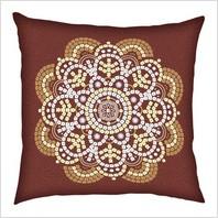 Набор для вышивания пайетками и бисером ''Декоративная подушка